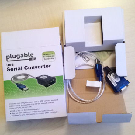 plugable USB to Serial Converter